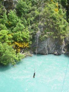 Bungee in New Zealand